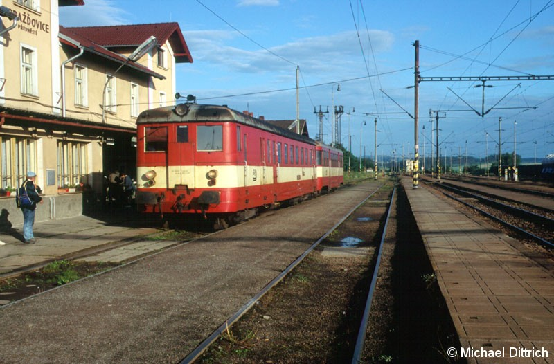 Bild: Als Os 17513 kam der 831 118 in Horazdovice an.