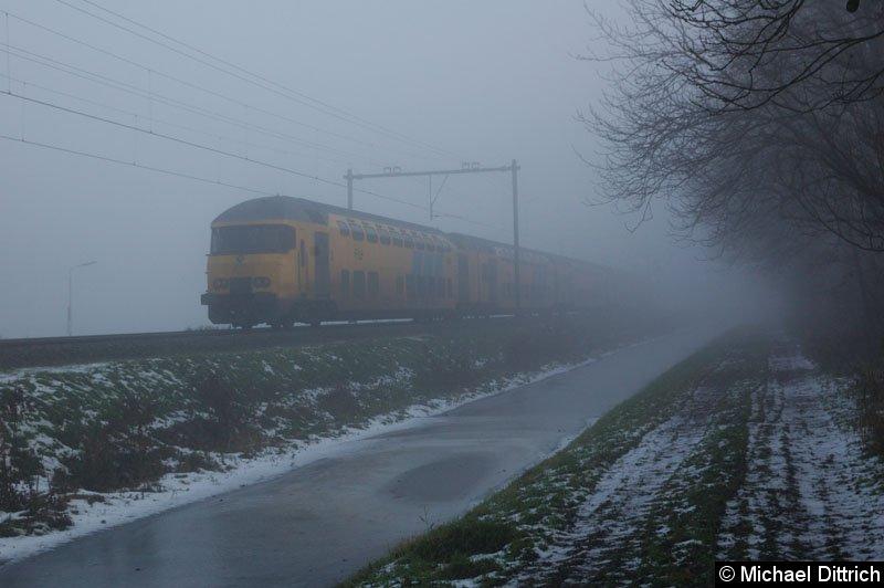 Bild: Der Nebel wurde stärker. Hier verschwand die 1712 im Nebel.