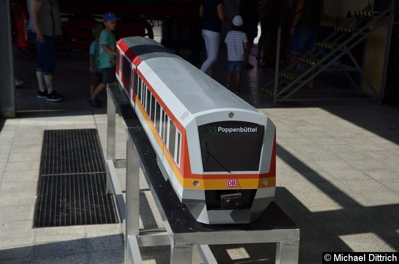Bild: Ein S-Bahnmodell