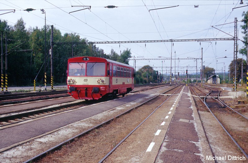 Bild: In Chodov kommt der 810 289 aus Nová Role an.