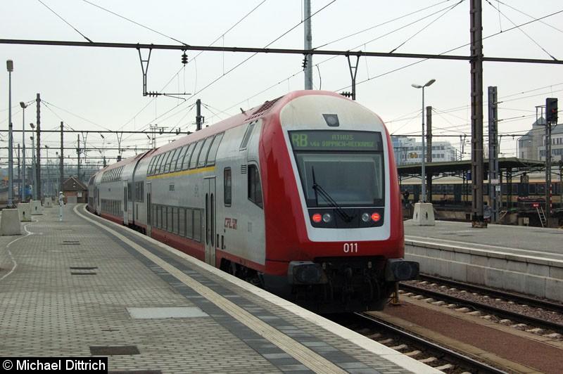 Bild: Nachschuss auf eine Regionalbahn nach Athus in Luxembourg.