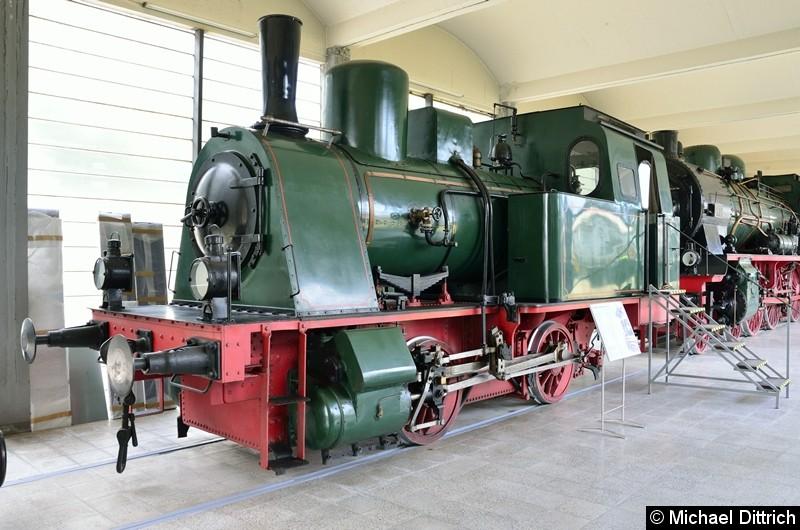 Bild: Diese Lok ist Baujahr 1922 und gehörte der Gelsenkirchner Bergwerks A.G., Zeche Westerhausen.