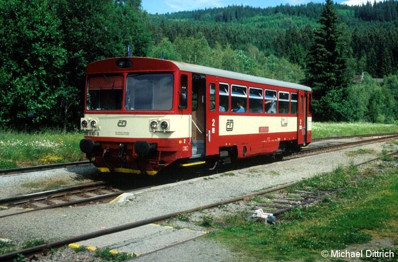Bild: 810 510 als MOs 18109 in Kubova Hut.