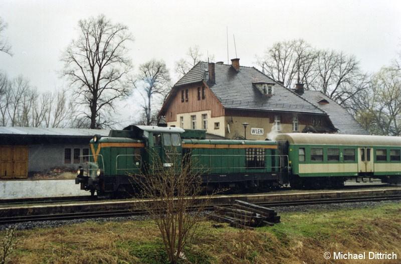 Bild: Seitenansicht der SP 42-245 in Wlen.