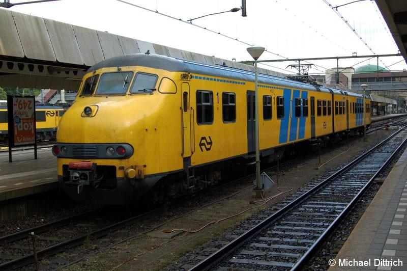 Bild: 445 ist gerade in Maastricht angekommen.
