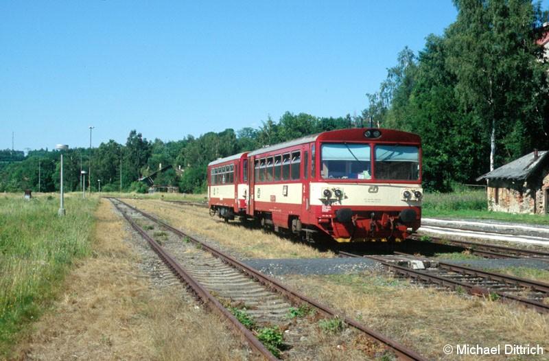 Bild: 810 324 in Vejprty.