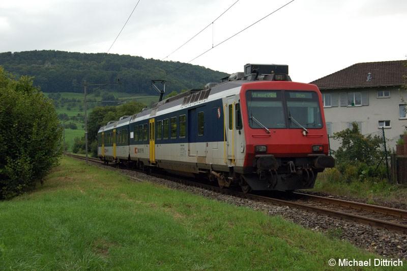 Bild: Diese S9 hat den Bahnhof Sissal verlassen.