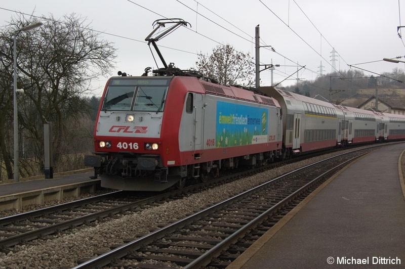 Bild: 4016 auf dem Weg nach Althus in Belvaux-Soleuvre.