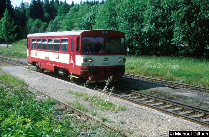 Bild: 810 510 in Kubova Hut.