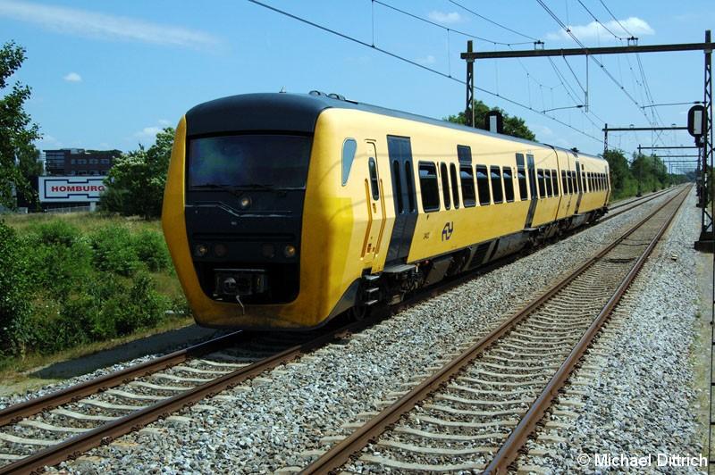 Bild: 3402 als Stoptrein in Enschede Drienerlo.