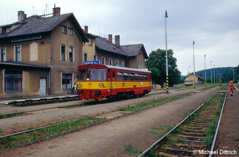 Bild: In Bakov steht der 809 281.