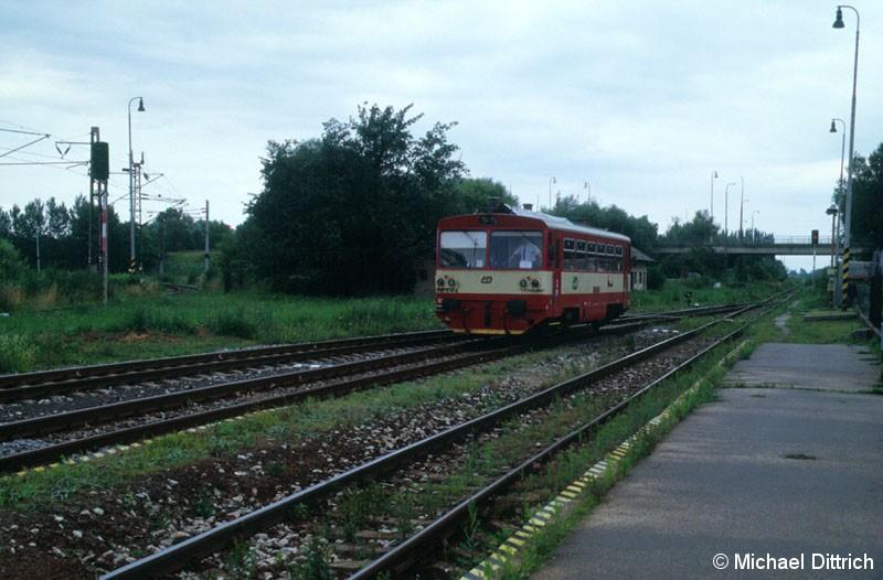 Bild: Auch der 810 614 ist von der CD.  Holic nad Moravo ist an der Grenze zu Tschechien.
