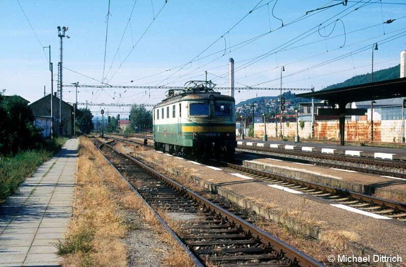 Bild: 141 029 steht in Praha Radotin.