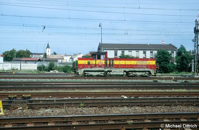 Bild: 731 043 rangiert in Olomouc.