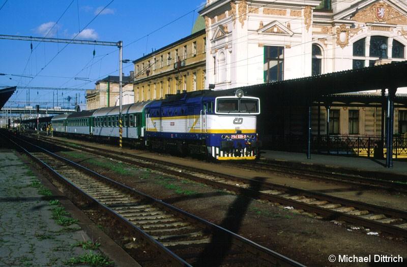 Bild: 754 029 in Plzen hl. n.
