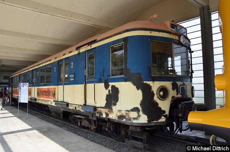 Bild: Hamburger S-Bahnwagen 471 144. Ausgmustert  am 28. Februar 1990, kam er kurz danach ins Museum nach Salzgitter.