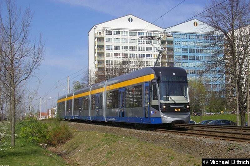 Bild: 1219 auf dem Weg nach Lößnig zwischen Moritz-Hof und Lößnig.