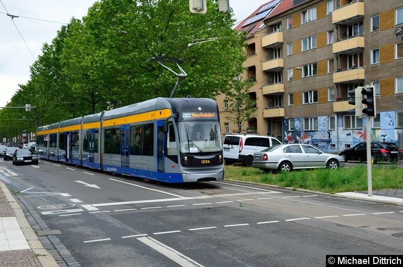 Bild: 1224 als Linie 31 in der Richard-Lehman-Straße.
