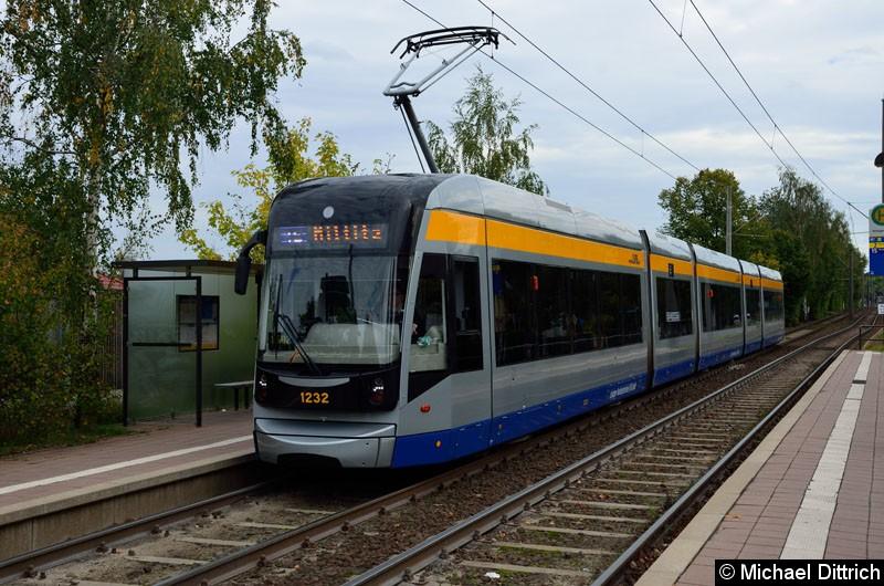 Bild: 1232 als Linie 15 in der Haltestelle Roseggerstr.
