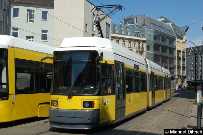 Bild: 2034 als Linie 12 in der Großen Präsidentenstraße.