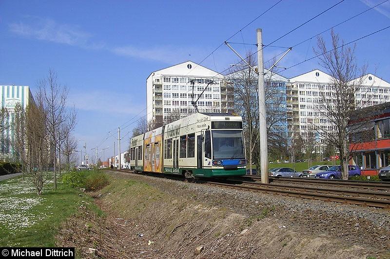 Bild: 1109 auf dem Weg nach Lößnig zwischen Moritz-Hof und Lößnig.