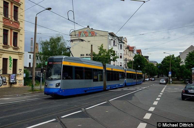 Bild: 1350 + 1323 als Linie 11 in der Bornaischen Str.
