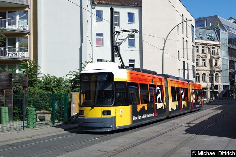 Bild: 1062 als Linie M4 in der Großen Präsidentenstr.