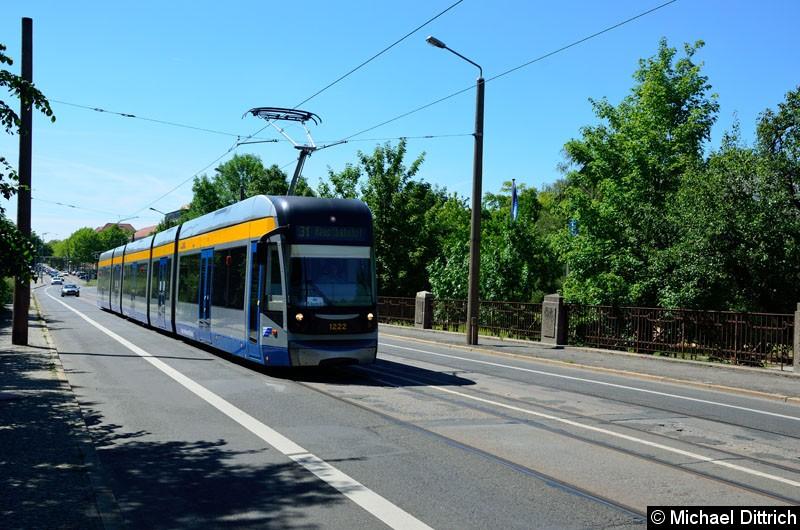 Bild: 1222 als Linie 31 in der Richard-Lehmann-Str.