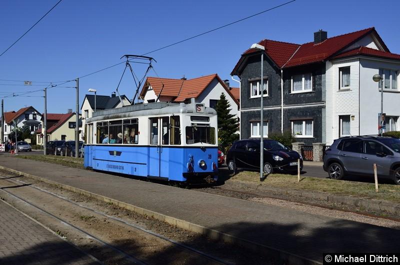 Bild: Noch einmal ein Blick auf den Wagen 39 in Bad Tabarz.