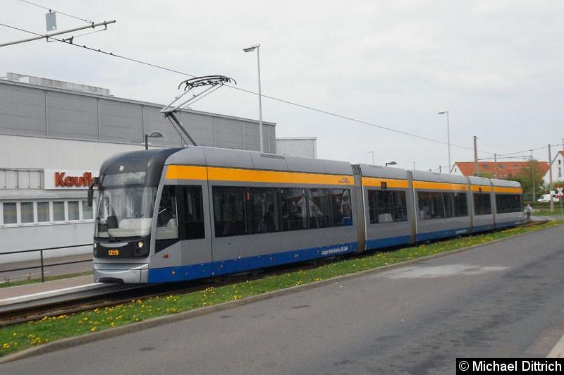 Bild: 1219 als Linie 7 an der Endstelle Sommerfeld.