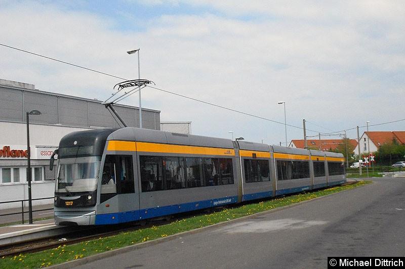 Bild: 1217 als Linie 7 an der Endstelle Sommerfeld.