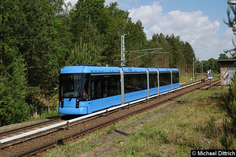 Bild: Problemlos fährt die Bahn hin und her.
