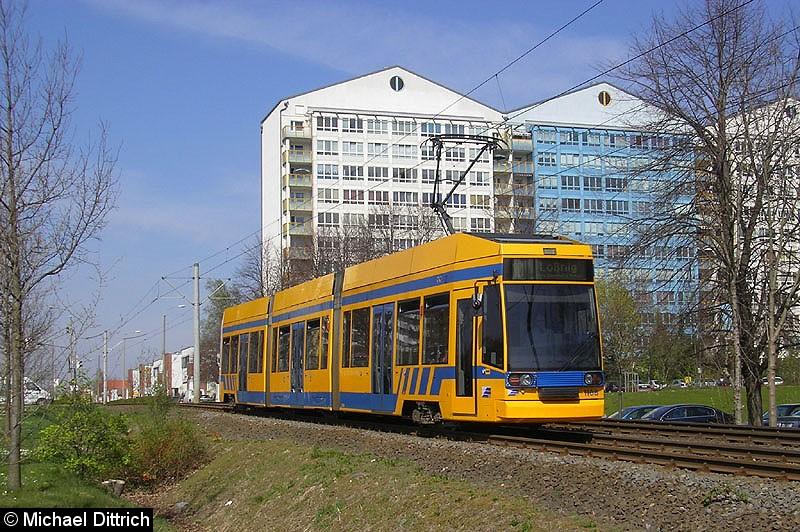 Bild: 1108 auf dem Weg nach Lößnig zwischen Moritz-Hof und Lößnig.