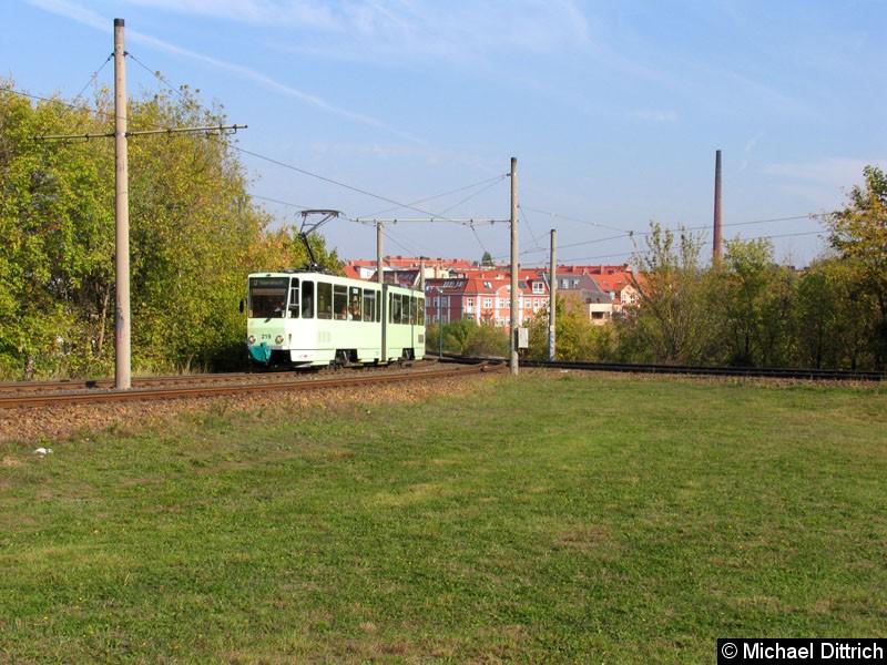Bild: Der 219 als Linie 3 auf dem Weg zur Kopernikusstraße.