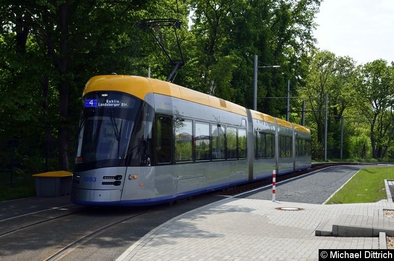 1003 als Linie 4 an der Endstelle Holzhäuser Str.